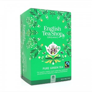 Organiczna  Herbata English Tea Shop - Pure Green Tea