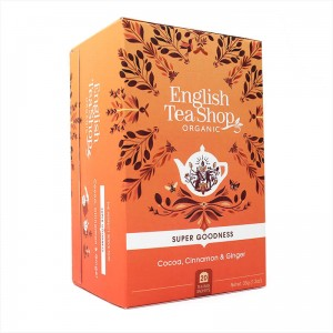 Organiczna herbata English Tea Shop - Cocoa, Cinnamon & Ginger